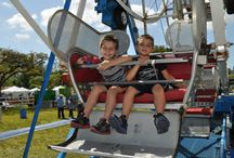 Amusing Amusement / Check out the various rides we offer!