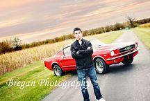 Senior car photo