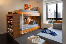 kids bunks / by Veronica Mrt