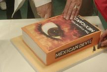 The Cryptid Files: Mexican Devil / The launch of Jean Flitcroft's second Cryptid Files series book, Mexican Devil, in Dubray Books in Blackrock. See if you can spot the book cake!