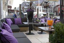 La Terrasse / Een impressie van onze lounge gelegen aan de Grote Markt in Bergen op Zoom