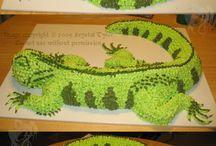 Reptile Cakes