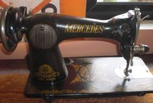 Mercedes sewing machine VINTAGE