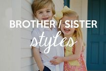 Brother/Sister Styles / These styles are perfect for your little boys and girls and will look SO adorable together. Because who doesn't like having great clothes for their kids? / by RuffleButts