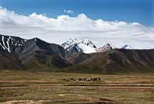 Kyrgyzstan / Kyrgyzstan is a rugged Central Asian country along the Silk Road with stunning scenery.  Blue Dot Travel will take you to this unique destination.  Join our small group tour.