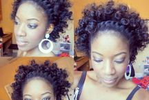 Natural Hair inspiration / Natural Hairstyles that are stylish and noteworthy ;)