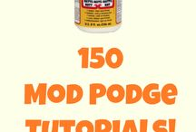 Modpodge crafts