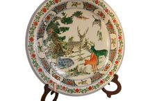 Chinese Plates / Beautiful Chinese plates display beauty and elegance.