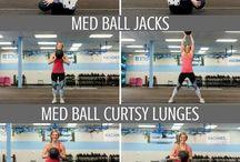 med ball exercises