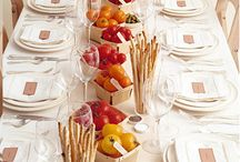 Table decors / Ideas for dinner parties