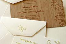 Zaproszenia i ślubna papeteria | Invitations