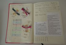 Note book tricot et patch