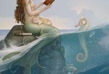 Mermaids and fairies