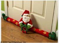 trancapuertas navideños