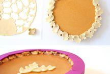 Pie board