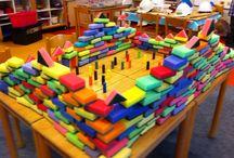 Onderwijs bouwhoek