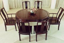 Asian Dining Tables / Beautiful hand made tables with various designs.