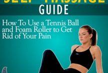 Self Massage with a Tennis Ball
