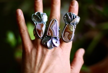 metalsmith-rings / rings, art jewelry, metalsmith / by Monica Ewing