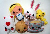 Baby room Alice in Wonderland