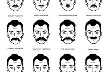 Mustaches styles