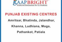 EXISTING CENTRES / GaapBright Existing Centres in all over India
