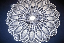 Doilies - Crocheted, Tatted, & Knitted / by J Hay
