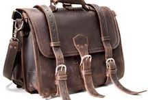 leather Bags / I love well made leather bags. Last you a lifetime / by J.E. Martinez