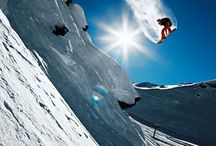 Ski & Snowboard / Whether you love to shred, downhill ski or take part in any other winter sport, here you'll find a collection of ski and snowboard gear, skiing and snowboarding photography and inspiration (photos, images, videos and articles) for the next time you're going downhill on the mountain.
