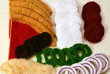 Crafts: Felt food
