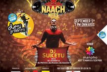 Naach Nites / Presenting the history & journey of dance in Bollywood. Get your dose of iconic dance numbers, signature dance moves - all at the biggest dance party of the city ever. Dj Suketu One of the highest selling DJ's in India spins his magic at the most awesome event ever. Over the years he has made his mark on the dance scene. He has redefined the meaning of remix. So, come by and lose yourself to brilliant music!