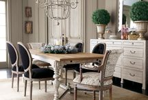 Dining Rooms / Dining rooms of provincial styling ❤️