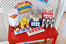 Comics/Superhero Theme / Love a good laugh? or does your child loved to pretend to be a superhero?? Then this is just the party for you and your child!