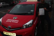Colliers Wood / People who have passed their driving test from the Colliers Wood area of London.