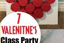 School Valentines party