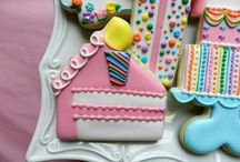 Decorated Birthday Cookies