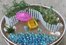 mini gardens / by Cindy Brown