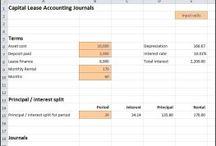Capital Lease Accounting Calculator