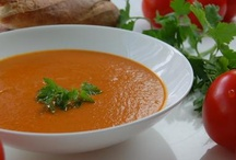 Sth to eat: creams, soups,...