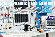 Thermodynamics Lab manufacturer / Best engineering college is based upon their labs. Different-different streams requires different type of labs. Same Civil engineering needs best lab for the practical. If college wants to make good reputation then they should give the best education system and labs are most important.