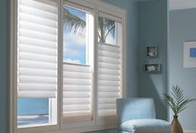 Window blinds, shades, curtains