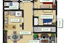 Amueblar nuestra casa 1A (Poggianti, Falcioni, Foschi, Franchini) / Nuestro grupo en esta tarea describirá a partir de un plano la casa de nuestros sueños.