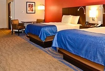 Astoria Hotel & Event Center  / The brand new 170 room property is a smoke free, eco-friendly hotel with a variety of room choices including Jacuzzi Suites and extended stay rooms with kitchenettes.  The Astoria features a large pool, hot tub, exercise room, free wifi, free parking and hot buffet breakfast.  Restaurant and event facilities will open late August of 2013!