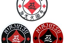 """""""PATCHES FOR TODAY'S NINJA!"""" / A great variety of Ninjutsu patches."""