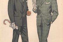 1950s Fashion Illustrations