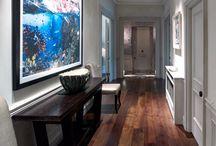 Hallways / Interior designed hallways