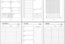 Planificador imprimible