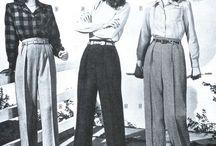 40 年代のファッション