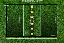 Dodgeballextreme.com / Dodgeball is a very fun and easy game to play. The two teams need to shoot down each other, with a soft ball and avoid to get hit. The team with more players in the court wins.