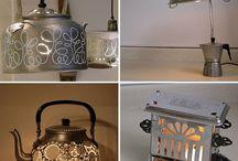 LAMPS / Allerlei mooie en leuke ideeën met/voor lampen